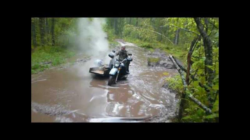 Moto ural танки грязи не бояться