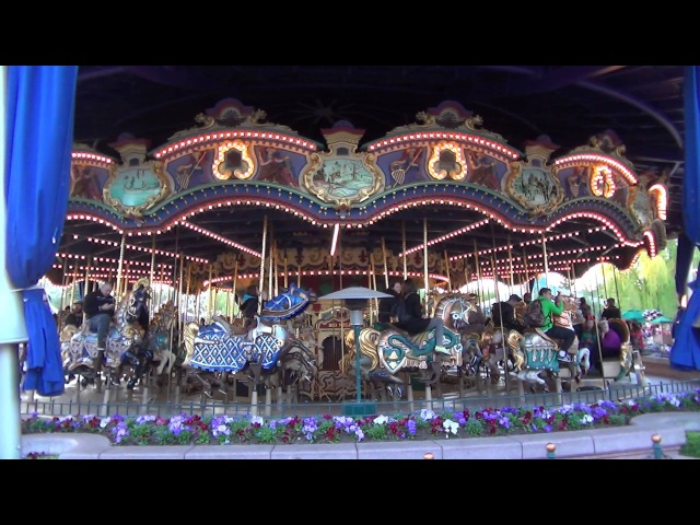 Le Carrousel de Lancelot Disneyland Paris HD 2014