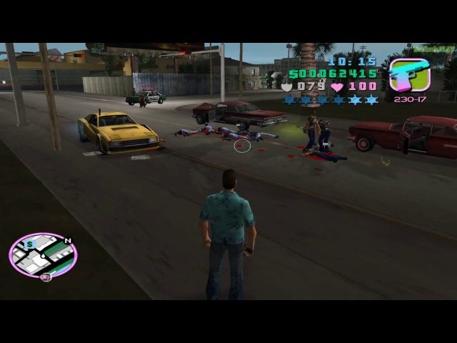 Играем в GTA Vice City - Перестрелка