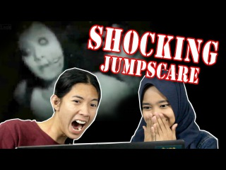Scary Jumpscare Video Compilation REACTION !!!