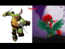 TMNT 2012 As My Little Pony TMNT 2012 In Real Life TMNT 2012 As Monsters