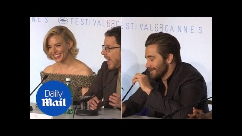Sienna Miller and Jake Gyllenhaal in jovial spirits at Cannes - Daily Mail
