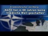 Friedensforscher Jan Oberg NATO hat in 68 Jahren keine friedliche Welt geschaffen  04.07.2017