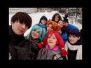 Бесконечное Лето бэкстейдж с зимнего фотосета команды Дети Рабочих