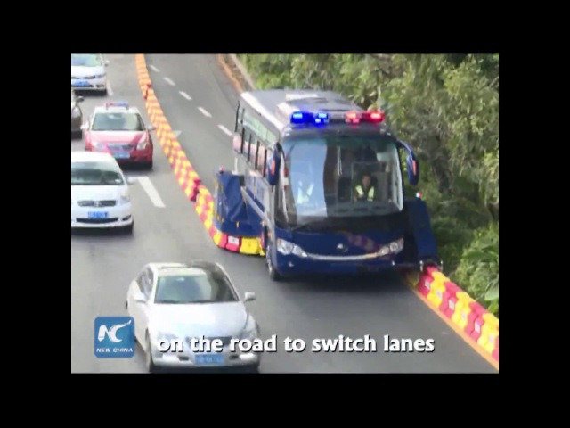 Reversible lanes introduced in S China to ease traffic jam