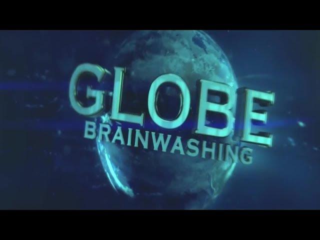 Flache Erde Meme der gezoomte Globus aus dem Weltraum Was ist Gravitation