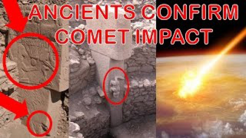 Gobekli Tepe Stone Carvings Indicate Comet Impacted Earth Reset Ancient Human Civilization