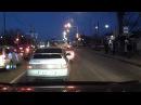Вечерняя запись с видеорегистратора Neoline Cubex V11 - видео с YouTube-канала Угона.нет - защита от угона