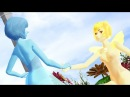 MMD Fusion of Yellow pearl and Blue pearl STEVEN UNIVERSE