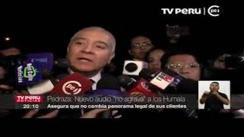 Wilfredo Pedraza: Audio difundido de Marcelo Odebrecht NO agrava situación de Ollanta Humala