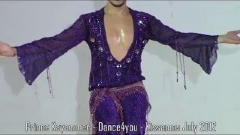 DRUM SOLO - MALE BELLYDANCER PRINCE KAYAMMER - DANCE4YOU 2012
