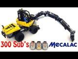 SPECIAL 300 MOC Lego Technic MECALAC 12 MTX - 9 Motors