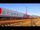 Электровоз ЭП20-035 с поездом№740А Брянск-Москва станция Нара 22.09.2017