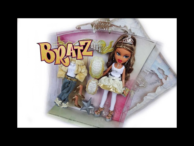 Обзор BRATZ Princess FIANA doll review