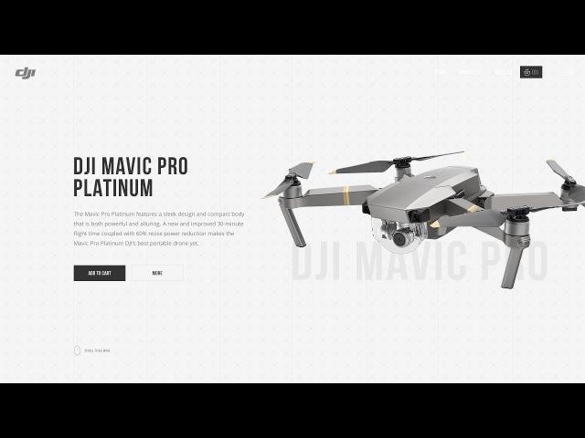 Веб-дизайн | Speed Art DJI