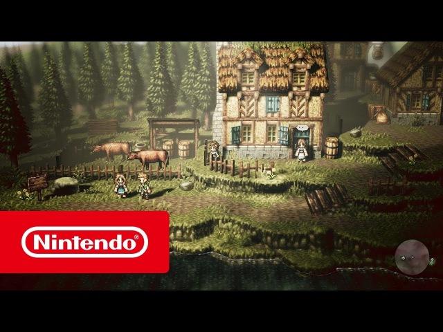 OCTOPATH TRAVELER Пути купца и аптекаря Nintendo Switch