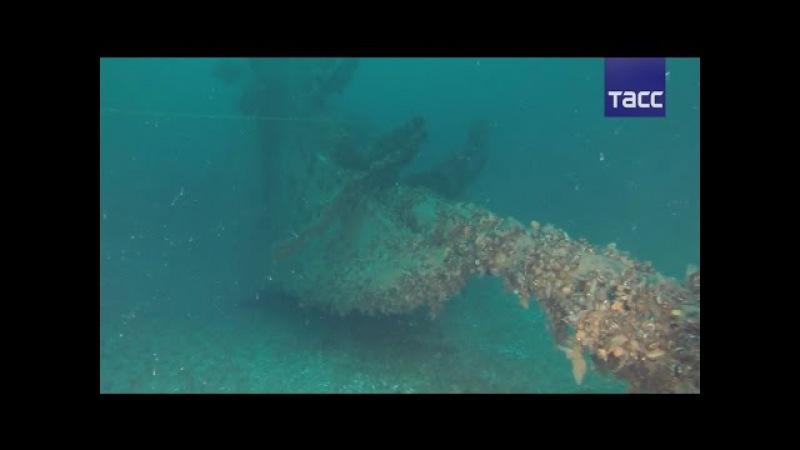Поиски затонувших сокровищ у берегов Крыма