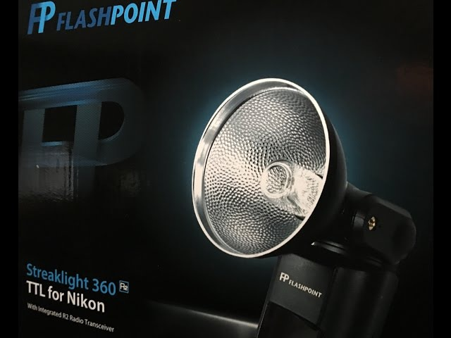 Flashpoint 360 Streaklight full set up
