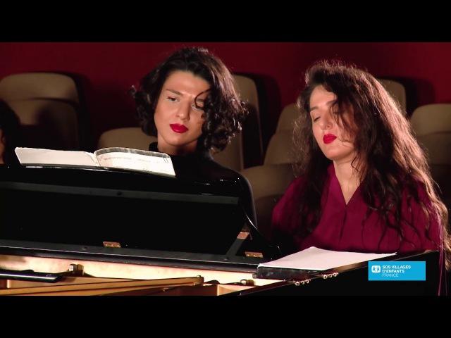 Khatia et Gvantsa Buniatisvhvili: récital à quatre main pour SOS Villages d'Enfants