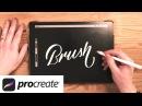 iPad Pro 2 (2017) 🖌  Procreate Lettering Brush Tutorial