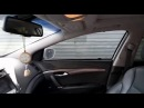 Автошторки на Hyundai i40 на магнитах установка