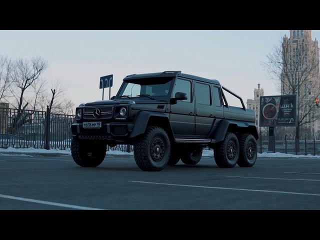 Mersedes-Benz G63 AMG 6x6