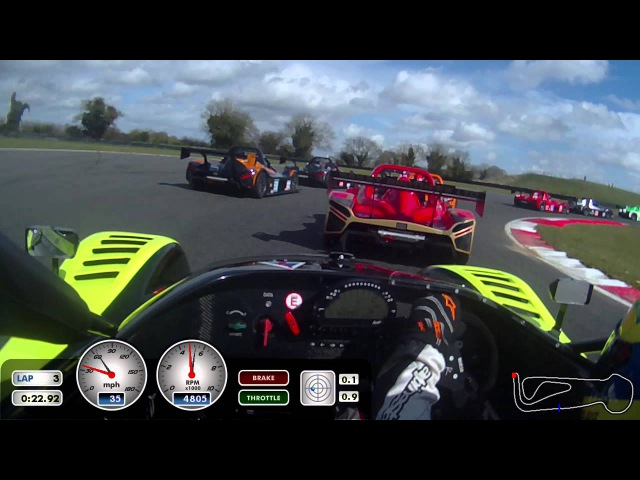 Race 1 Sprint - Radical SR3-RSX at Snetterton 300