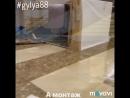 Монтаж выставки фойе «МАМА,я хочу домой» Крокус Сити Холл