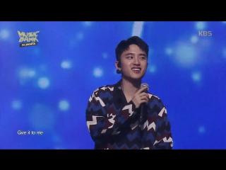 VIDEO 170930 EXO - Tender Love @ Music Bank in Jakarta 2017