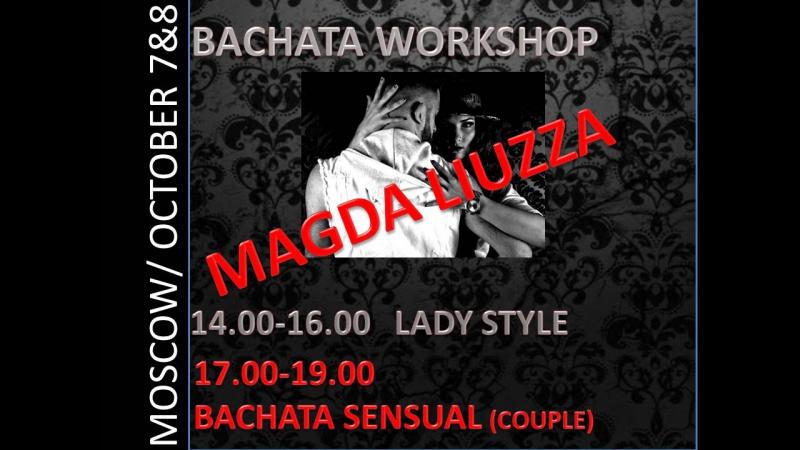 Imitadora - Romeo Santos by LATIN FENIX (Bachata Dance) with Magda Liuzza