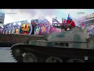 Калифорния в шоке: Болгарский спортсмен под гимн РФ въехал на танке на 70-тысячный стадион!