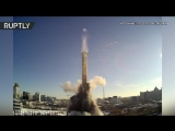 Момент взрыва недостроенной телебашни в Екатеринбурге попал на видео