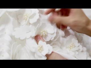 The making of neoprene floral jacket by nigel chia