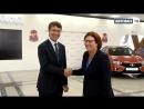 АВТОВАЗ с рабочим визитом посетила Мари Франсуаза Дамзан исполнительный вице президент по персоналу Альянса RENAULT NISSAN