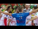 The Most Powerful Volleyball Spikes Over The Line. Line Spike. Line Shot 2018 (HD)