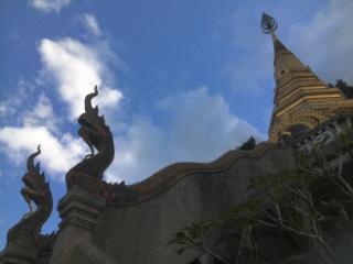 Buddist mountains monastery. 10/2017 #Chiang_Dao #Thiland
