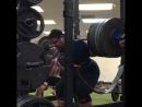 Джозеф Пенья - присед 370 кг в 18 лет