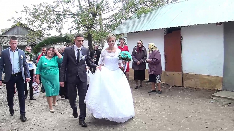 4-надобрийдень в Галі-весілля в Бурштині Богдан та Галя 14 10 2017Р