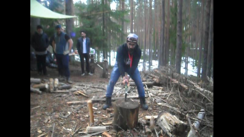Как друг индус колит дрова