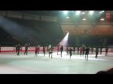 Canadian Skating Championships Gala Practice Group Number #1