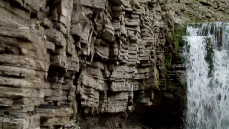 Малый водопад Наджиго. Сочи, Лазаревский район.