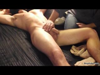 Straight boy molested fondled