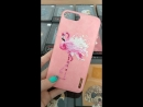 Чехол Nimmy iPhone X 6 7 8 6Plus 7Plus 8Plus Розовый Фламинго