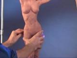 Марк Афлей - лепка обнаженной фигуры!!! Классный скульптор!!!