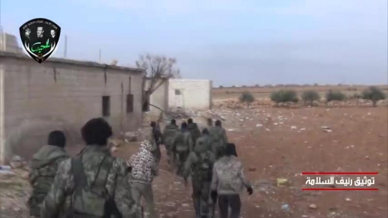 Прогресс героев полка Аль-Хайдар Tiger Forces в местности провинции Идлиб