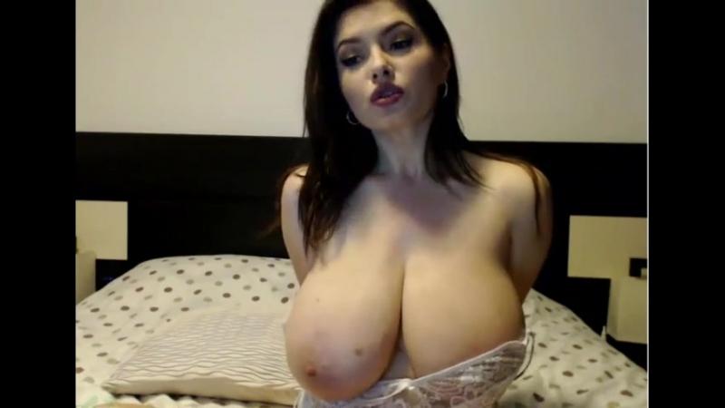 Вот это РАЗМЕРЧИК ! классные сиськи, звезда порно домашнее эротика порно секс sex porn