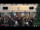 От героев былых времён (из х_ф Офицеры) – Песенный флешмоб. Донецк