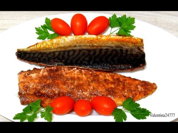 Вкуснейшая СКУМБРИЯ за 10 Минут Скумбрия (Рыба) Запеченная в Духовке Рецепты
