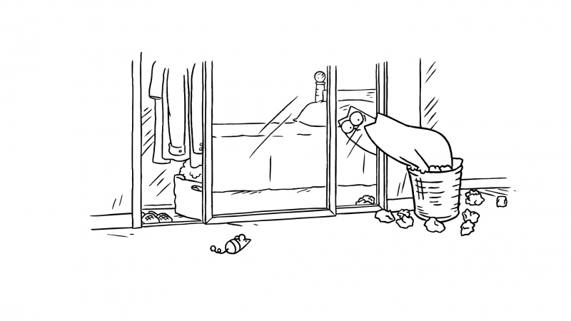 Кот Саймона — Свет мой, зеркальце