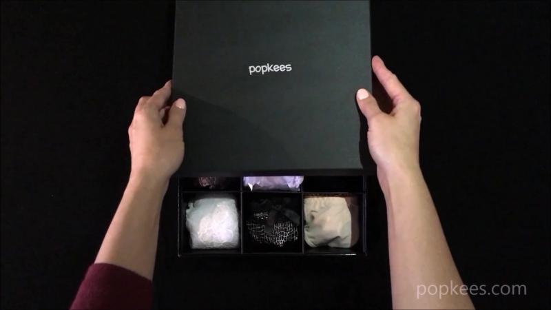 Подарочный набор трусиков Popkees